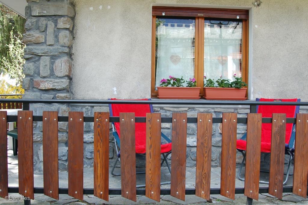 balcone accessibile dall'esterno
