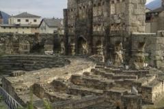 Aosta teatro romano