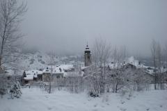 Morgex sotto la neve