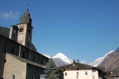 Morgex la chiesa