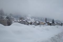 Morgex in inverno