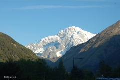 Monte Bianco visto da La Salle