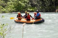 rafting sulla Dora a La Salle