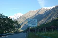 strada dei vini tra La Salle e La Ruine